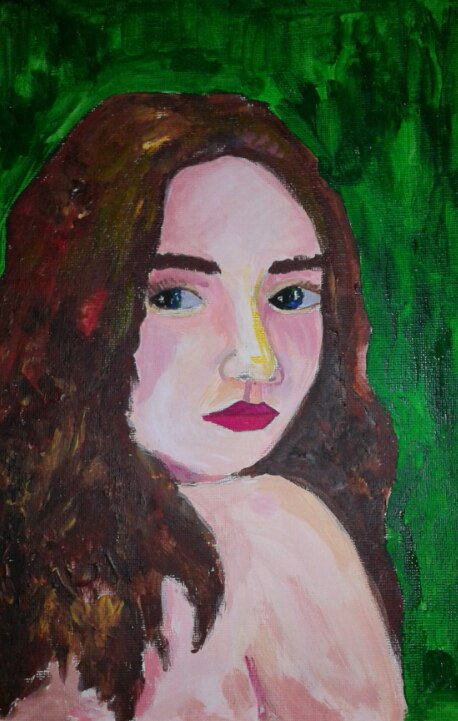 Painting of Kate by Alix