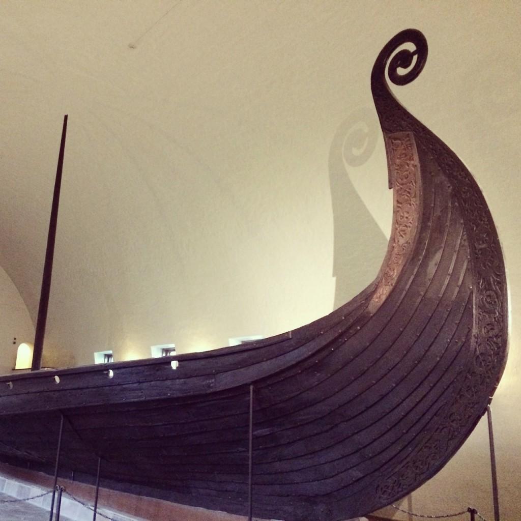 Viking ships!