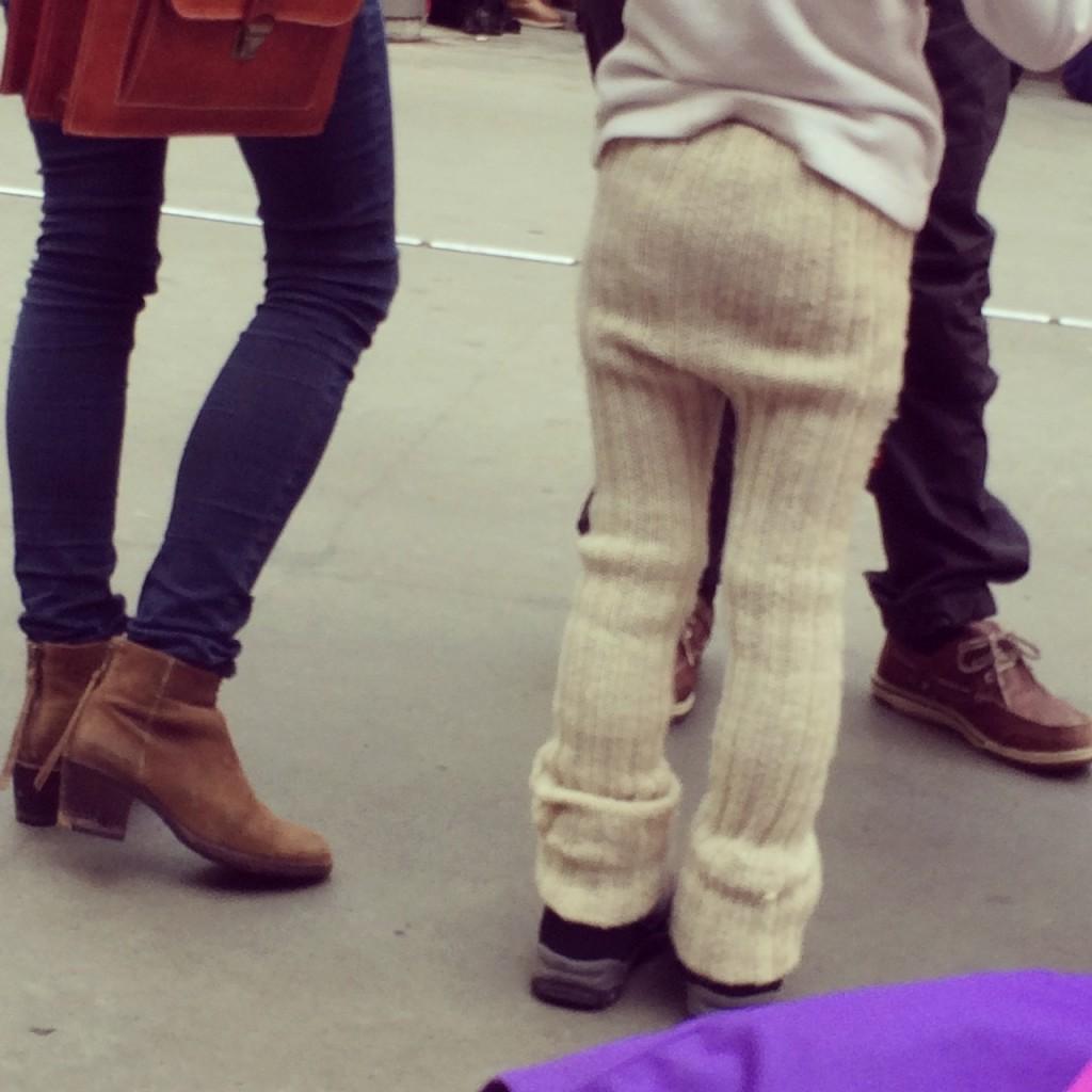 Saggy sweater pants!