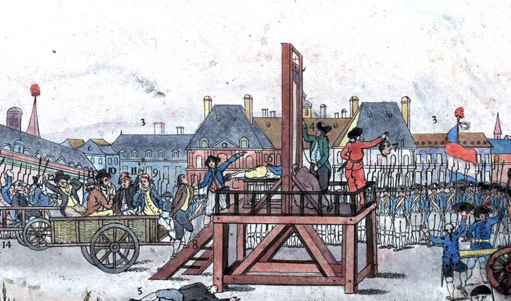 execution-of-robespierre-color-print