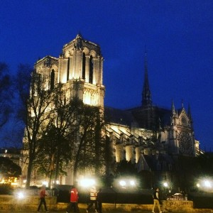 I snapped this pic of Notre Dame Cathedral on April 1, 2 weeks before the fire as I walked back home from the Shakespeare and Company teen book club.